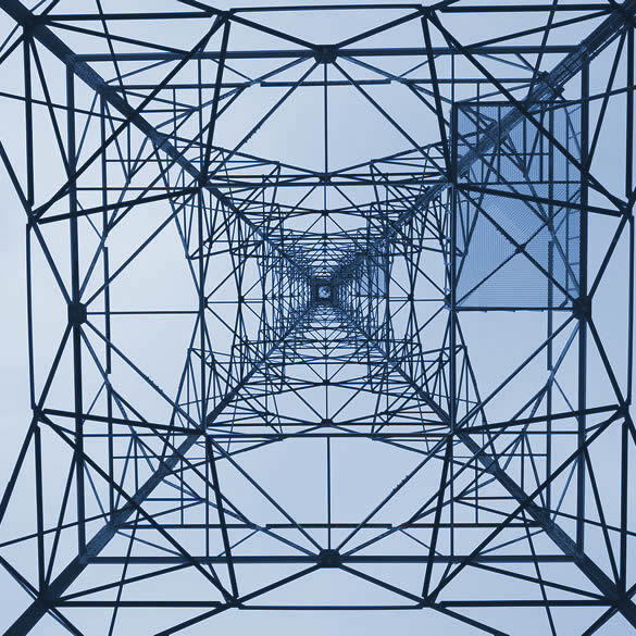structural view of digital tower